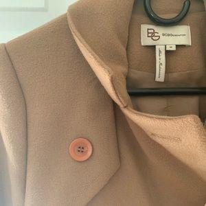Jackets & Blazers - BCBG Beige Peacoat NWOT